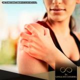 tratamento de dor na articulação do ombro